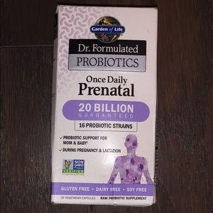 Garden of Life Prenatal Probiotics